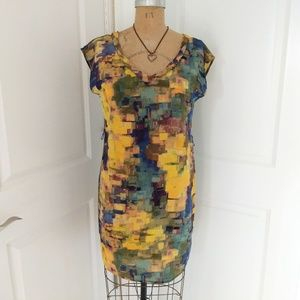 Anthropologie Maeve Silk Tunic Dress Size 6
